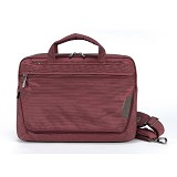 "TUCANO Expanded WorkOut for MacBook 13"" [BEWO13-BX] - Burgundy - Notebook Shoulder / Sling Bag"